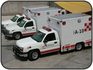 Ambulancia tipo IC